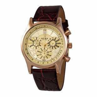 Часы из красного золота 585 пробы